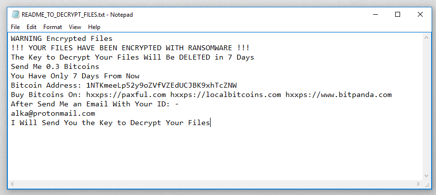 How to remove MSIL ransomware and decrypt .ransom files