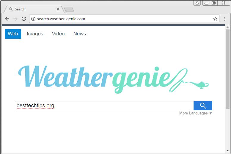 remove Weather-genie.com hijacker