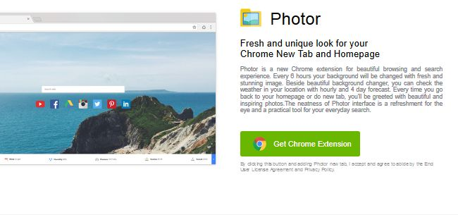 Photor Extension