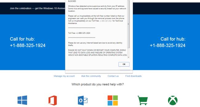How to remove Bankerrorpop.xyz pop-up (Your computer has been blocked)