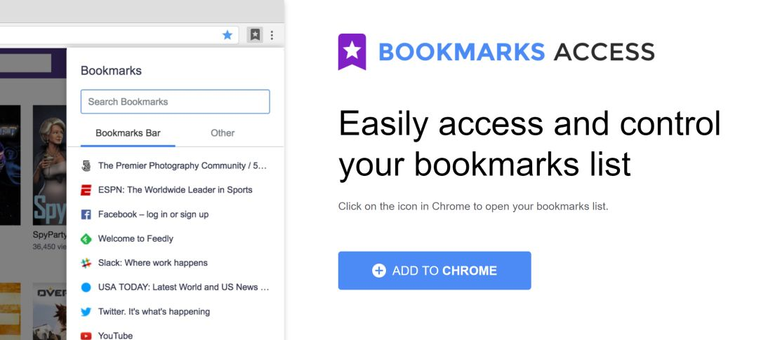 Bookmarks Access