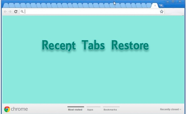 Recent Tabs Restore Extension