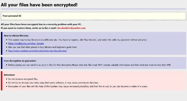 How to remove WininiCrypt ransomware and decrypt your files