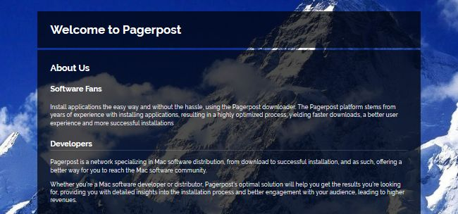 How to remove Pagerpost from Mac OS X