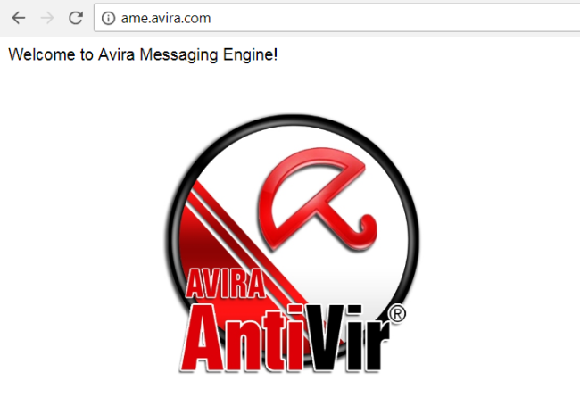 Ame.avira.com