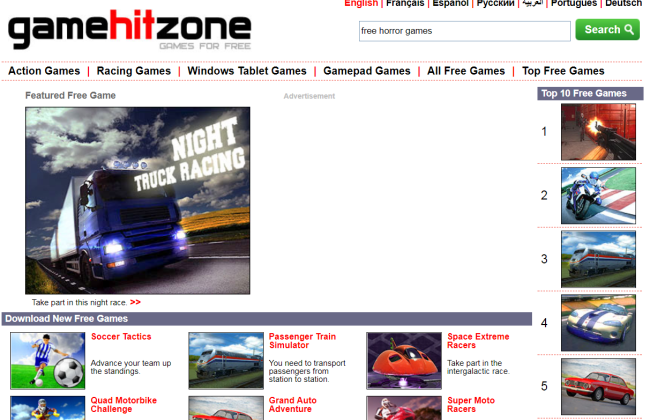 Game Hit Zone