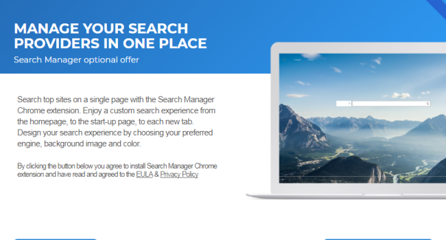 How to remove Search Manager (searchmgr.com)