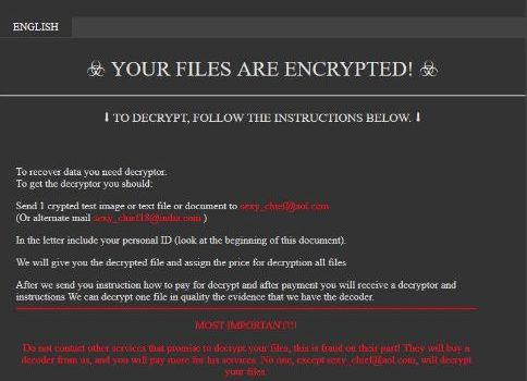 How to remove Sexy ransomware and decrypt .sexy files