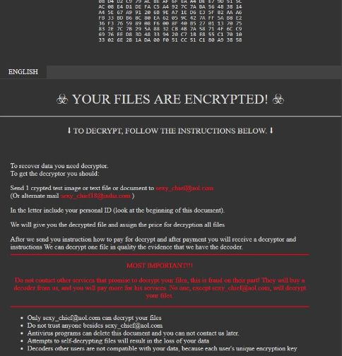 Sexy ransomware