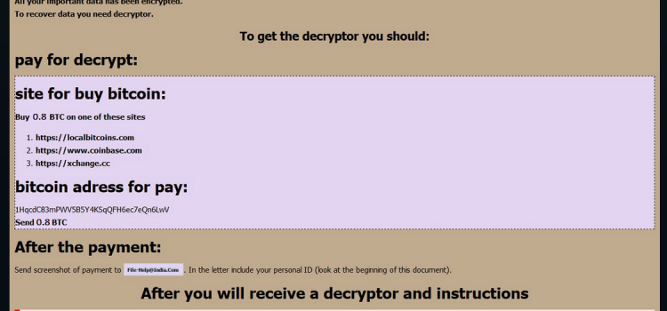 How to remove Globeimposter 2.0 ransomware and decrypt files