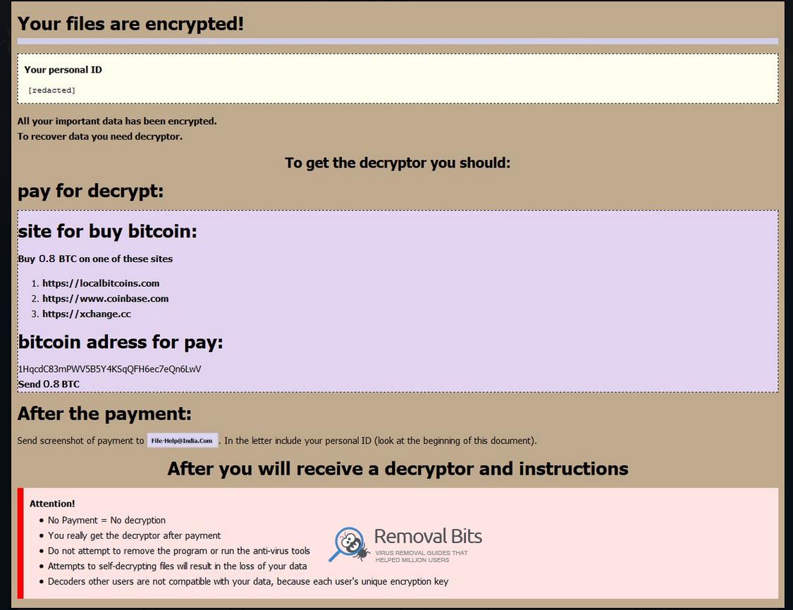 remove Globeimposter 2.0 ransomware