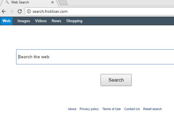 remove Search.froktiser.com hijacker