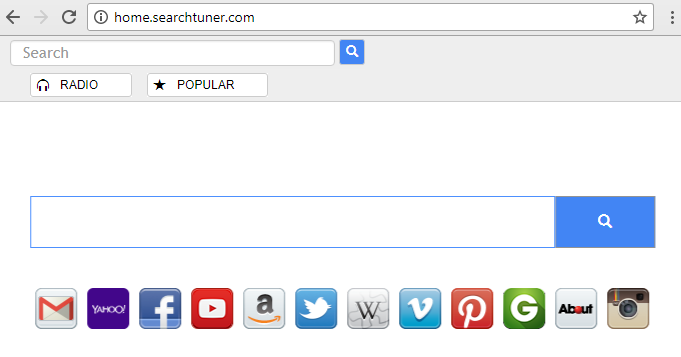 remove Home.searchtuner.com hijacker