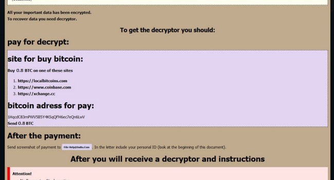 How to remove GlobeImposter ransomware and decrypt your files
