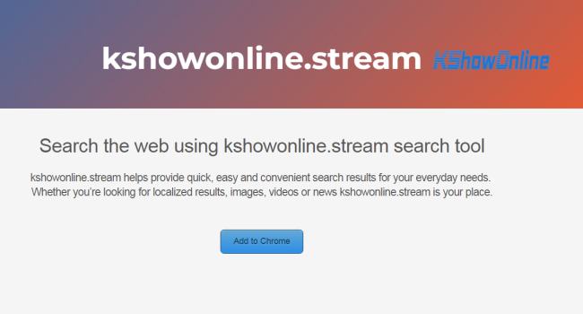 How to remove Kshowonline.stream