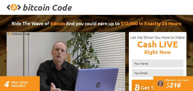 How to remove The Bitcoin Code