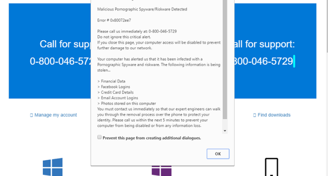 """How to remove """"Microsoft Warning Alert"""""""