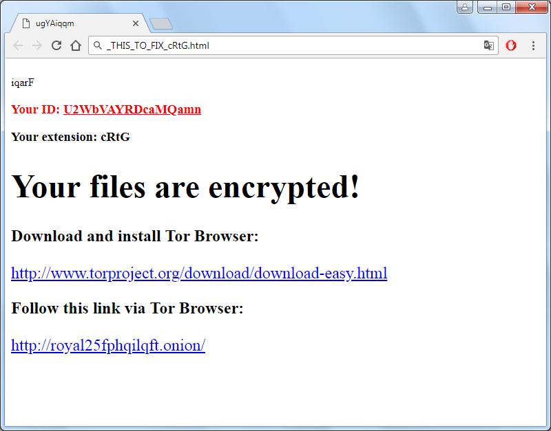 remove Princess Locker-2 ransomware