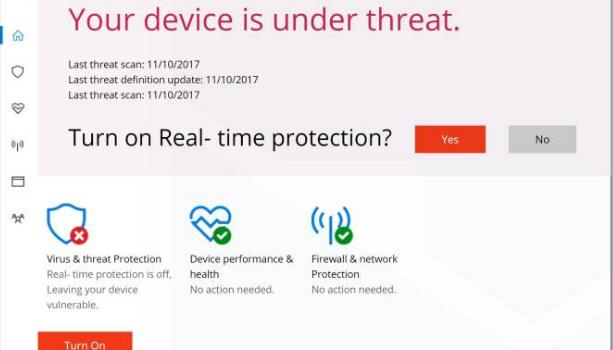 "How to remove ""Windows Defender Security Center"" scam alert"