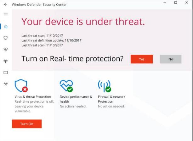 how do i uninstall windows defender security center