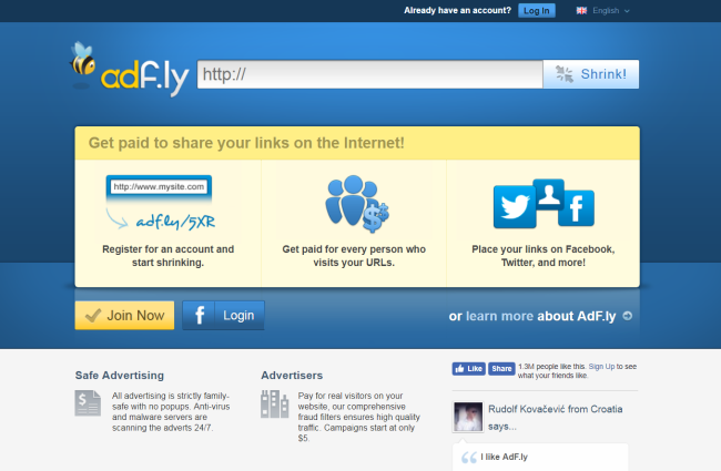 How to remove Adf.ly