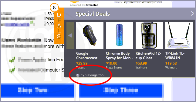 How to remove SavingsCool ads