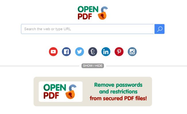 Search.openpdf.pro