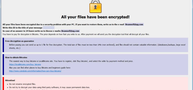 How to remove Bip Ransomware and decrypt .bip files