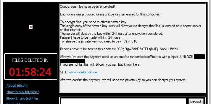 How to remove RandomLocker and decrypt .rand files