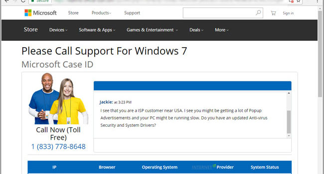 "How to remove ""Microsoft virus warning"" scam by EasyTechWork"