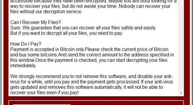 How to remove UselessFiles Ransomware and decrypt .UselessFiles files
