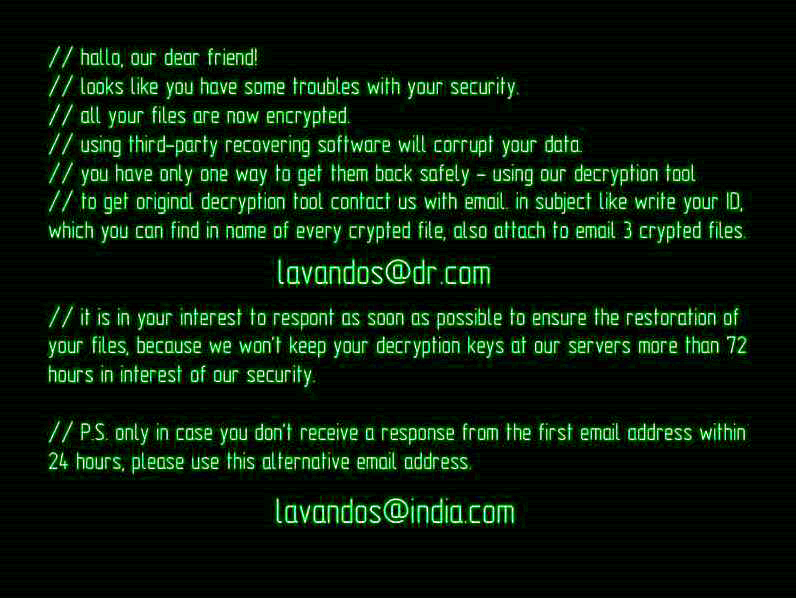 How to remove Wallet Ransomware and decrypt .wallet files