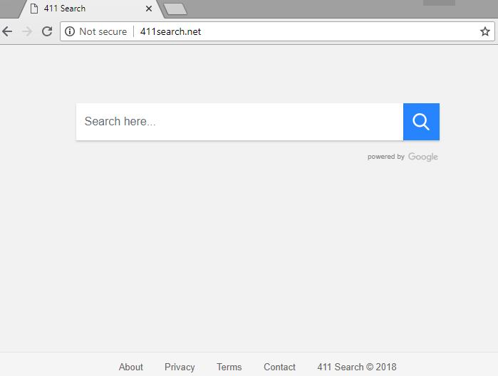 remove 411search.net hijacker