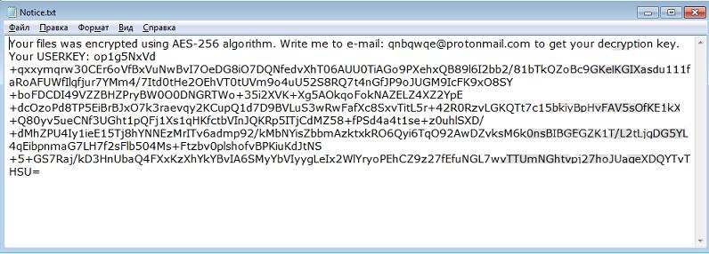 remove QNBQW ransomware