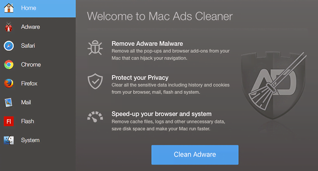 How to remove Mac Ads Cleaner