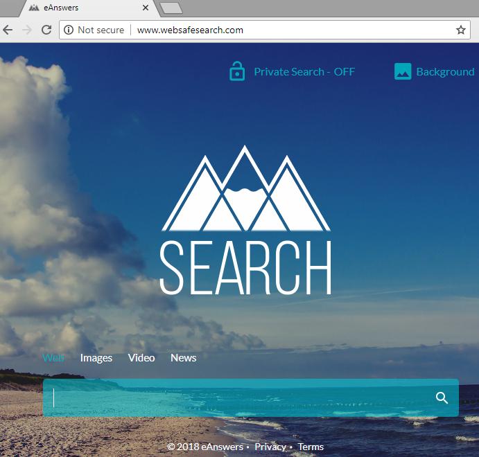 remove Websafesearch.com hijacker