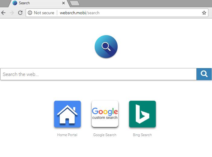 remove Websrch.mobi