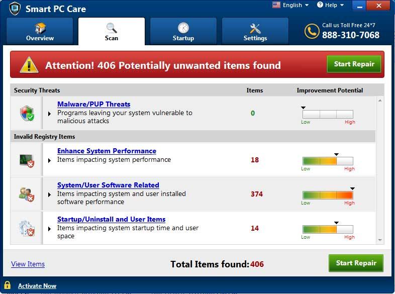 remove Smart PC Care