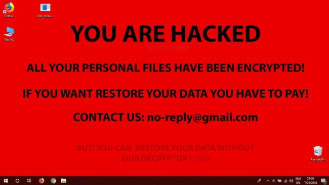 How to remove DDE Ransomware and decrypt .encrypted files