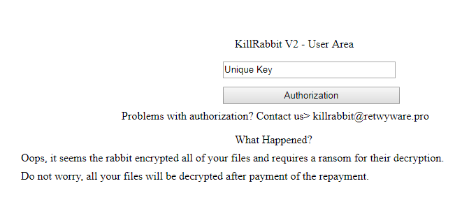 remove KillRabbit ransomware