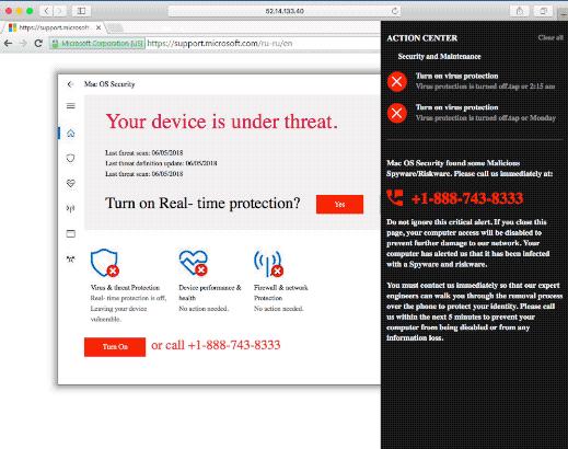 remove Mac OS Security pop-up