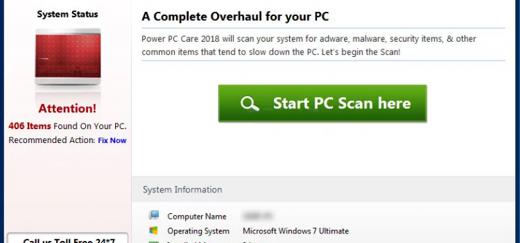 How to remove Power PC Care 2018