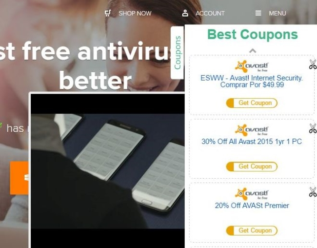 Amazon Shopping Assistant pop-up