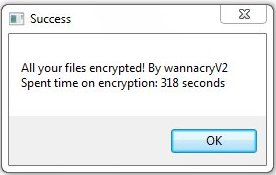 remove wannacryV2 ransomware