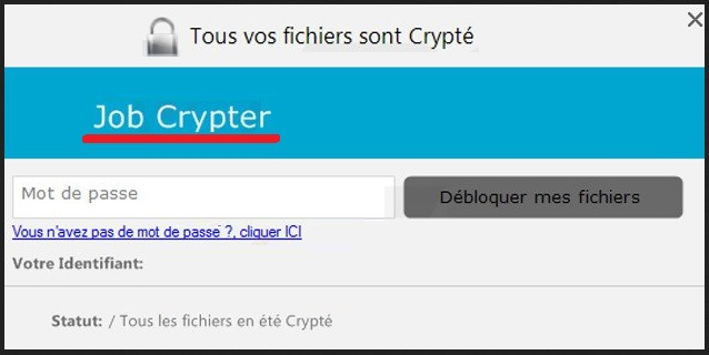 remove JobCrypter ransomware