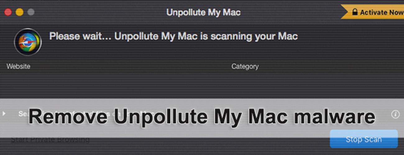 remove Unpollute My Mac