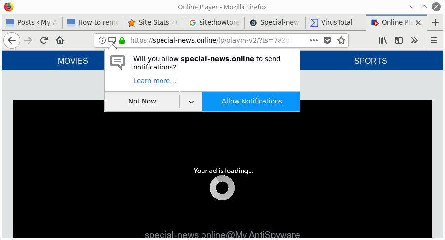 remove Special-news.online