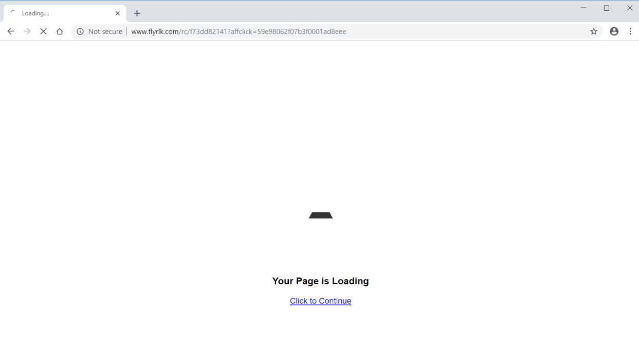 remove Flyrlk.com redirect