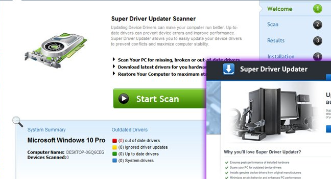 How to remove Super Driver Updater