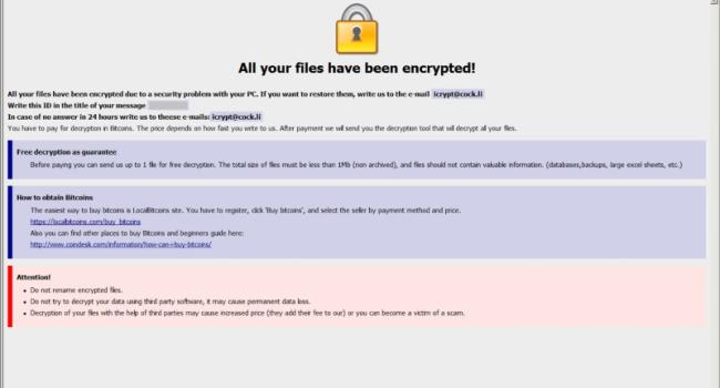 How to remove Monro Ransomware and decrypt .monro files